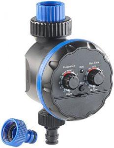 Royal Gardineer Bewässerungs Schaltuhr: Elektronische Bewässerungsuhr, bis 7 Tage (Garten Bewässerungs Zeitschaltuhr)