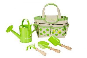 EverEarth Gartentasche mit Gartengeräten und Gießkanne EE33646