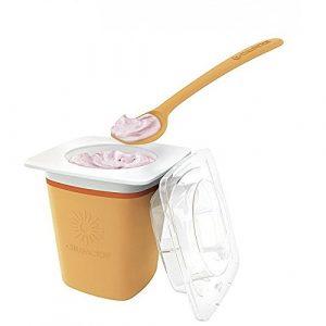 MM Spezial–Chill Factor Joghurtbereiter, für Frozen Yogurt, Orange