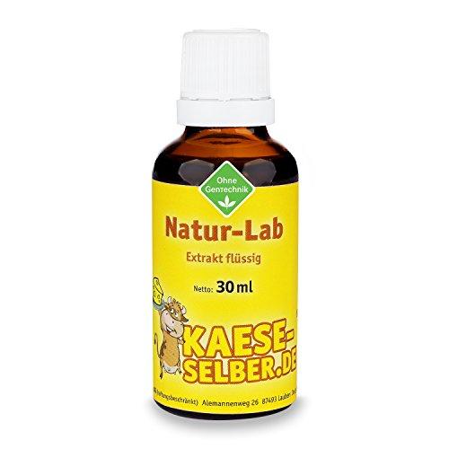 Labextrakt Premium (Käselab) flüssig 30ml 1:10000 - Naturlab (Käse selber machen)