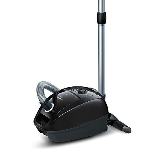 Bosch BGL3B112 Bodenstaubsauger GL-30, EEK B mit Beutel, gründliche Reinigungsleistung, PowerProtect System, Hartbodendüse, schwarz