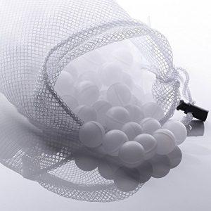 FollowHeart Sous Vide Kochen Wasserbälle 250 Count mit Mesh-Trocknertasche, minimaler Wärmeverlust und Wasserverdunstung, BPA-frei, für Sous Vide Herde und Präzisions-Eintauch-Umwälzthermostate