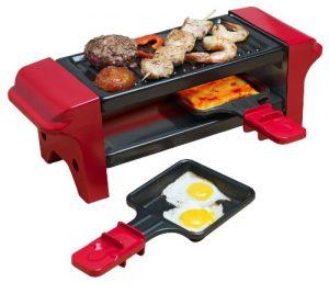 Bestron AGR102 Mini Raclette (350 Watt) rot