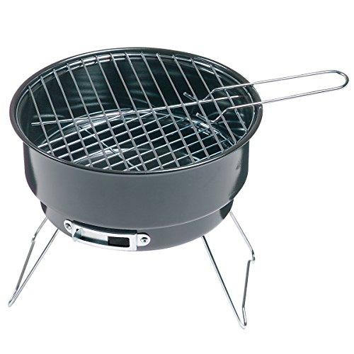 elasto Campinggrill Picknickset mit Holzkohlegrill