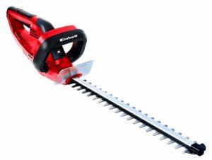Einhell Elektro Heckenschere GH-EH 4245 (420 Watt, 450 mm Schnittlänge, 16 mm Zahnabstand, 2,5 kg, Köcher inkl. Wandhalterung)