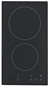 PKM EB-GK2-TC Glaskeramik Kochfeld / Autark / Rahmenlos / 30 cm / 2 Zonen / (23056)