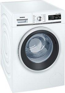 Siemens iQ700 WM14W540 Waschmaschine / 8,00 kg / A+++ / 137 kWh / 1.400 U/min / Schnellwaschprogramm / Nachlegefunktion / aquaStop mit lebenslanger Garantie /