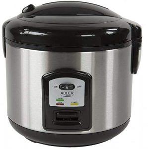 Reiskocher | 1,5 Liter | Multikocher | Dampfgarer | Dampfgargerät | Edelstahl Schnellkochtopf | Reis Kochtopf | Warmhaltefunktion | Automatische Abschaltfunktion |