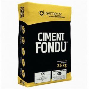 Tonerdeschmelzzement a 25 KG Sack Ciment Fondu von Kerneos Schnellzement
