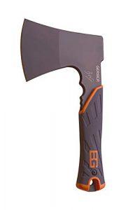 Gerber Bear Grylls Camping- und Outdoor/Survival-Axt mit Nylon-Scheide, Länge: 24 cm, Camping Hatchet, 31-002070