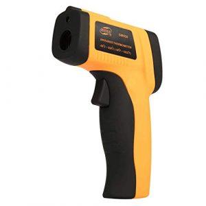 RTYUU Laser-Infrarot-Thermometer Industrielles elektronisches Hand-Thermometer -50 ℃ -550 ℃ LCD-Display Kochen/Grillen/Gefrieren (ohne Batterie)