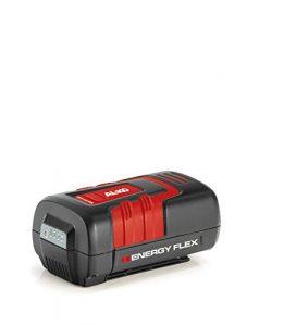 AL-KO 113524 B 200, 40 V max, 5 Ah, Li-Ion Akku, für Geräte aus der Energyflex Serie, 180 Wh, leistungsstark und pflegeleicht, Kurze Ladezeit ca. 120 min
