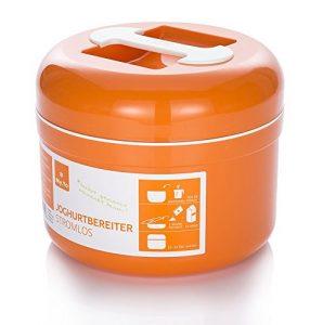 Stromloser My.Yo Joghurtbereiter, in Mandarine + 2 Beutel Bio-Fermente gratis!