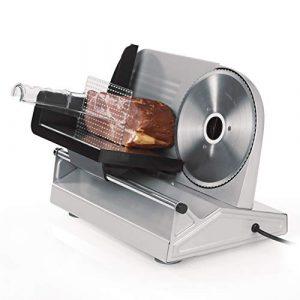 GOURMETmaxx Profi Allesschneider | Brot-Schneidemaschine klappbar | Aufschnittmaschine | Wurst-Schneidemaschine | Fleisch-Schneidemaschine | Wurstschneider | Brotschneider