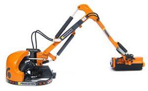 Universal Hobbies–uh4281–epareuse–Rousseau Kastor 500PA–Echelle 1/32–Orange