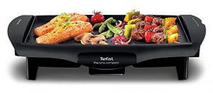 Tefal CB5005 Ultra Compact Barbecue Elektrogrill (Grillfläche: 25 x 35 cm) (Generalüberholt)
