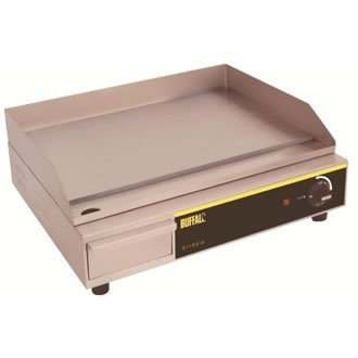 Buffalo zinntheken Kontaktgrill 525x 450x 200mm Edelstahl Küche Grill