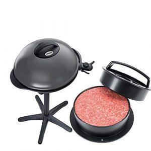 Steba Barbecue- Grill,BBQ Grill Kombination Tisch-/Standgrill inkl. Burgerpresse