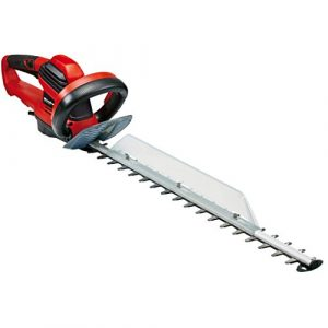 Einhell Elektro Heckenschere GE-EH 7067 (700 W, 670 mm Schnittlänge, 30 mm Zahnabstand, Schnittgutsammler, Kabelzugentlastung)