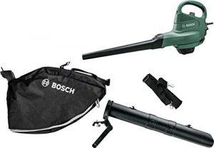 Bosch Laubsauger/Laubbläser UniversalGardenTidy (1800 Watt, Luftstromgeschwindigkeit: 165-285 km/h, im Karton)