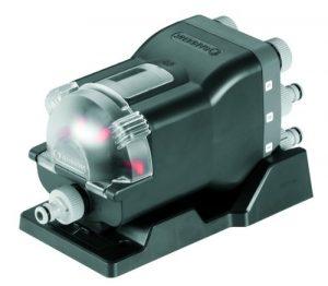GARDENA Wasserverteiler automatic: 6-Wege-Verteiler, einfache Bedienung, platzsparend, flexibel einsetzbar, ideal auch für niedrigen Wasserdruck, Gewinde 3/4″ Außengewinde (1197-20)