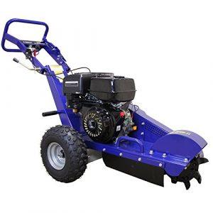 T-Mech 13PS Benzin Baumstumpffräse Wurzelfräse Stubbenfräse Gartenfräse Stockfräse mit Gratis Sicherheitsausrüstung -und Wartungswerkzeug