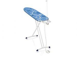 Leifheit Bügeltisch Air Board L Solid Plus, ist höhenverstellbar, Bügelbrett ideal für Dampfbügeleisen, Dampfbügeltisch für beste Bügelergebnisse