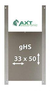 AXT-Electronic gHS – Alu-Gänseklappe, Größe L