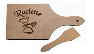 Raclette-Set 6/8 oder 10tlg.aus Holz auf Wunsch auch m. Namensgravur