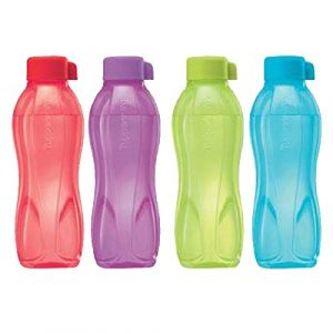 Tupperware Aquasafe 500 ml Flaschen (Set von 4)