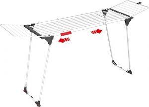 Vileda Infinity ausziehbarer Wäscheständer aus Stahl