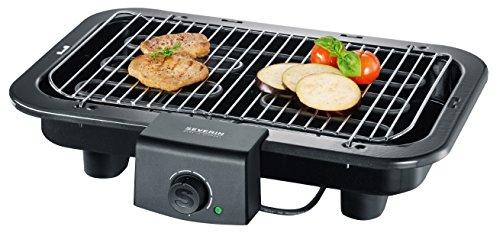SEVERIN PG 8518 Barbecue-/Tischgrill (2.500W, Grillfläche, 41x26cm) schwarz