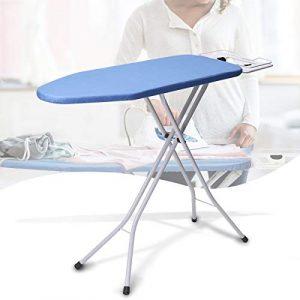 KING DO WAY Faltbaren Bügeltisch, Brettoberfläche 90X30cm, Haushalt Essentials Tischplatte Bügelbrett mit klappbaren Beinen, dampfdurchlässige Bügelfläche