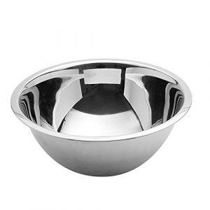 stapelbare Teigschüssel Küchenschüssel Rührschüssel Schüssel Edelstahl 1,5 Liter