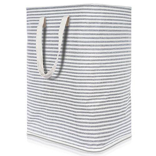 Lifewit Wäschekorb Groß Wäschesammler Faltbar Wäschebox Wasserdicht Wäschesortierer Aufbewahrungsbox mit Griffe