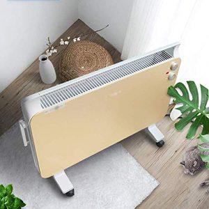 HIAO Heizung Elektrogrill Feuerheizung Startet Schnell Ruhig wasserdichte Intelligente Konstante Temperatur Zuhause Sicherheit