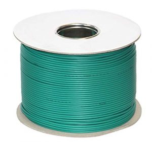 genisys Gardena komp. Kabel Mähroboter Begrenzung Draht sileno | HQ Kupfer | auf der Kabelrolle | Ø2,7mm, Länge:150m