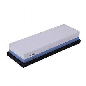 Whetstones  Schleifsteine für das Schärfen von Messern 1000 6000 Axt Messerschärferwinkel Aluminiumoxid-Reinigungsblock Diamantstein-Elektromesser